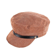 Spring and Autumn New Womens Octagon Hat Solid Color Casual Windproof Beret Unisex 2019 Sun Men Fisherman