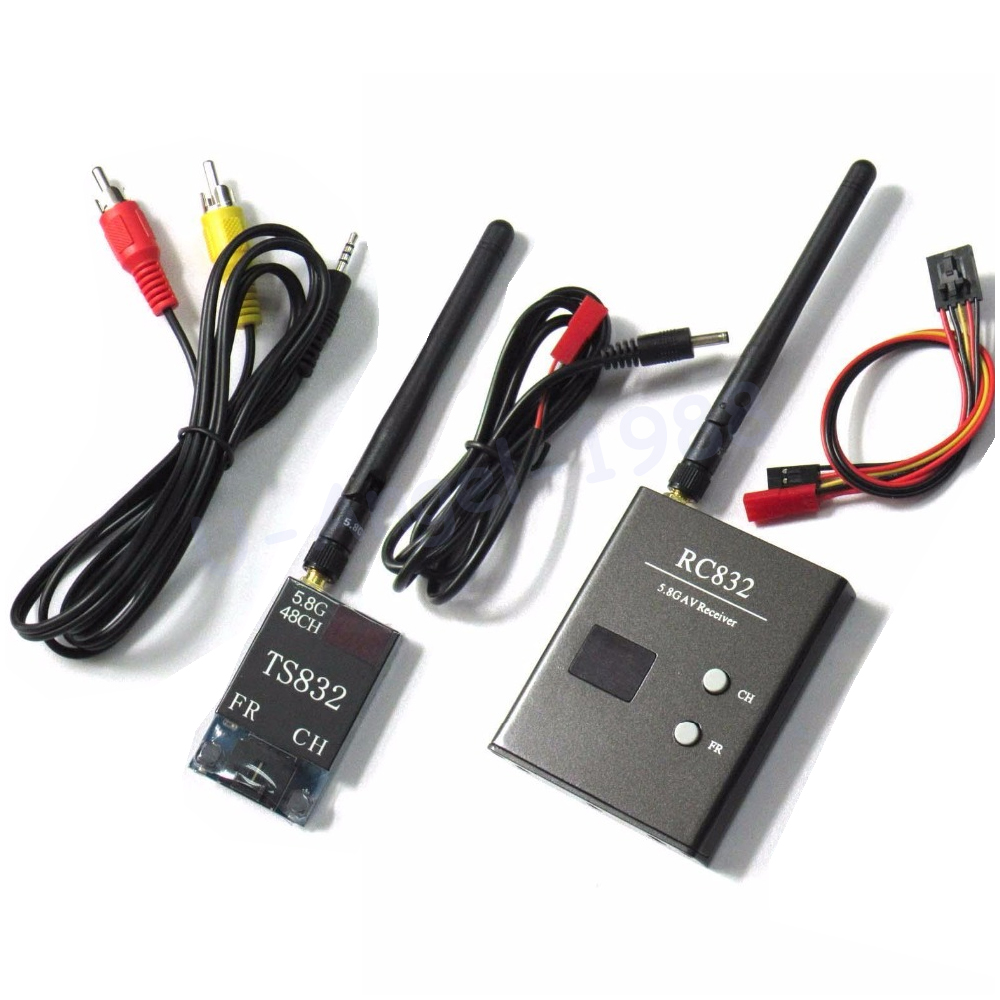 48Ch 5.8G 600mW TS832 & RC832 V3.0 Wireless Audio Video Transmission System Transmitter Recevier передатчик skyzone ts5828 и ресивер rc832