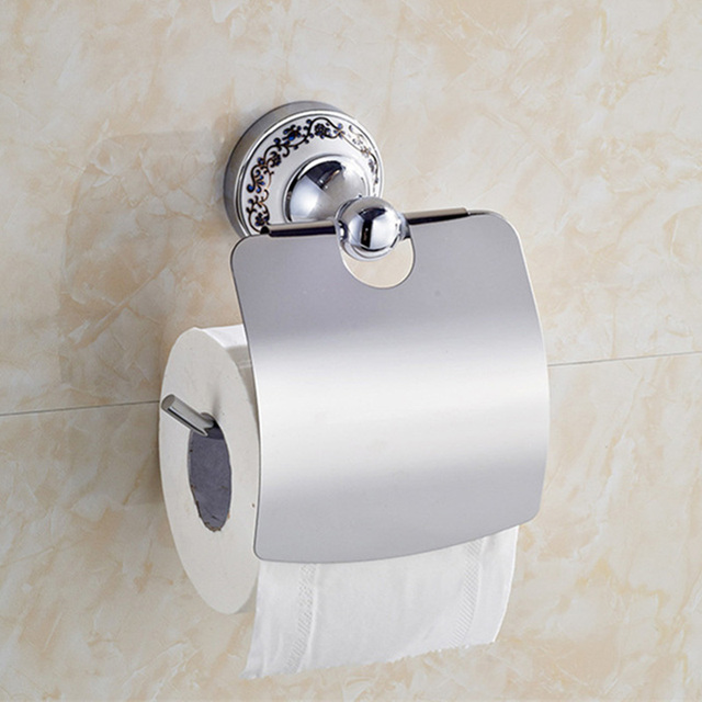 Stainless Steel Toilet Paper Holder Tissue Holder Wall Mounted Paper