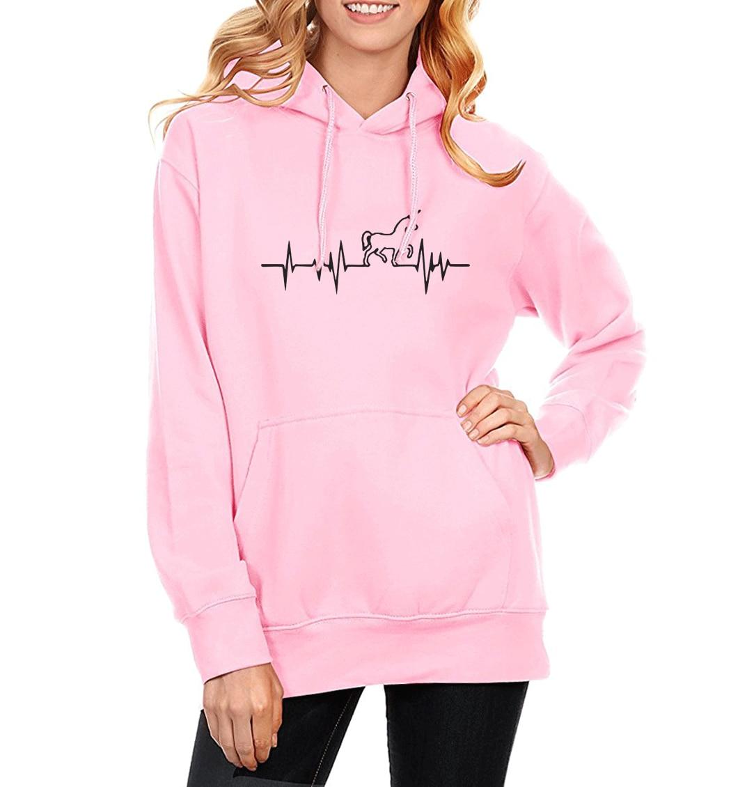 Hot Sale Women's Hoody Sweatshirts 2019 Autumn Winter Fleece Sweatshirt For Women Brand Print Animal Kawaii Crossfit Sportswear