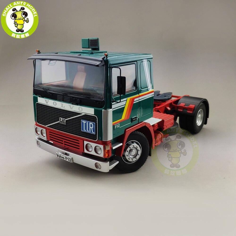 1 18 ROAD KINGS KK Volvo F1220 Tractor Truck 1977 Diecast Car Truck Model Toys for