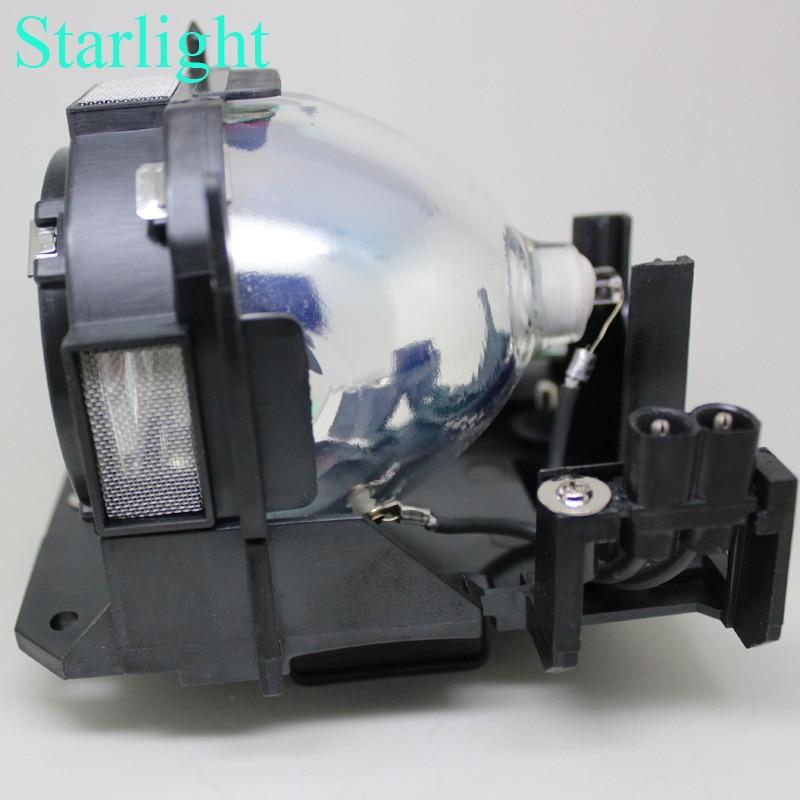 compatible ET-LAD60 ET-LAD60W for Panasonic PT-D5000 PT-D6000 PT-D6710 PT-DW6300 PT-DZ6700 PT-DZ6710E PT-DZ6700E Projector lamp compatible projector bulb with cage et lad60 et lad60w for projector pt d6000