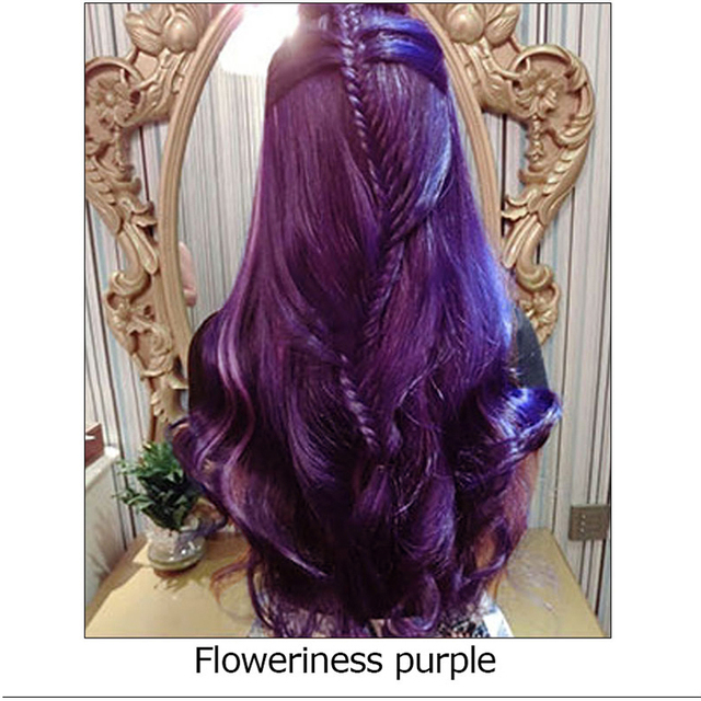 Popular Professional Permanent Hair Cream Hair Color Dye Floweriness