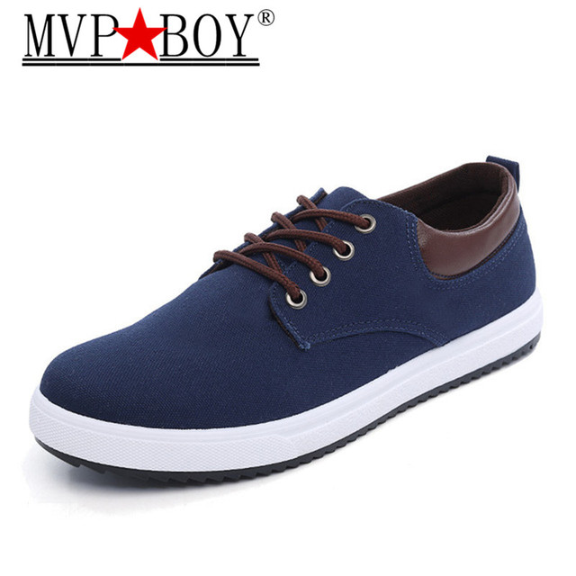 686785fe15c2 MVP BOY New Arrival Canvas Shoes For Men Spring Summer Comfortable Casual  Shoes Mens Fashion Lace