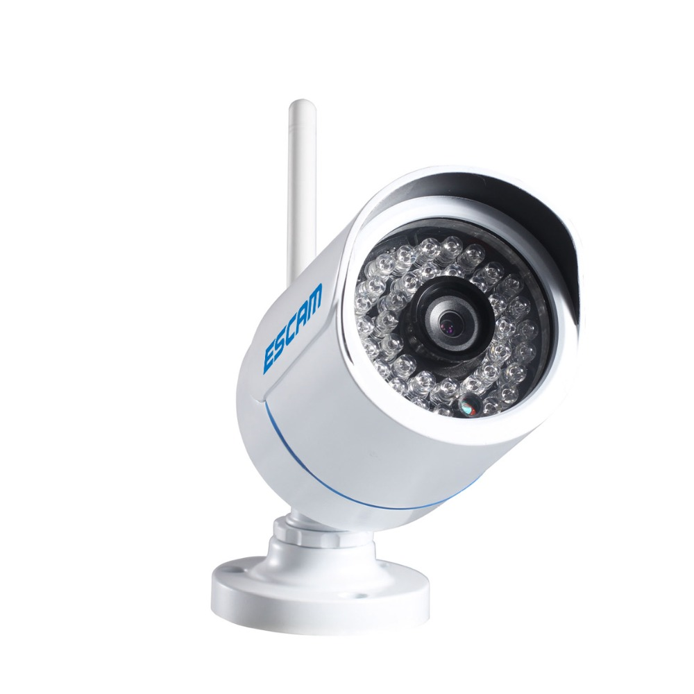 ESCAM Q6320  WIFI wireless network cam 6MM lens home security system Waterproof Outdoor ip camera  Mini IR-Bullet Camera,P2P