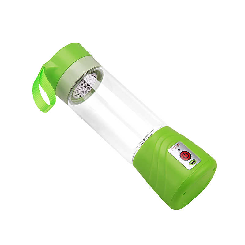 Exigível portátil Copo Garrafa Copo De Vidro Espremedor Elétrico Liquidificador Misturador Liquidificador para Estudo Camping Viajar