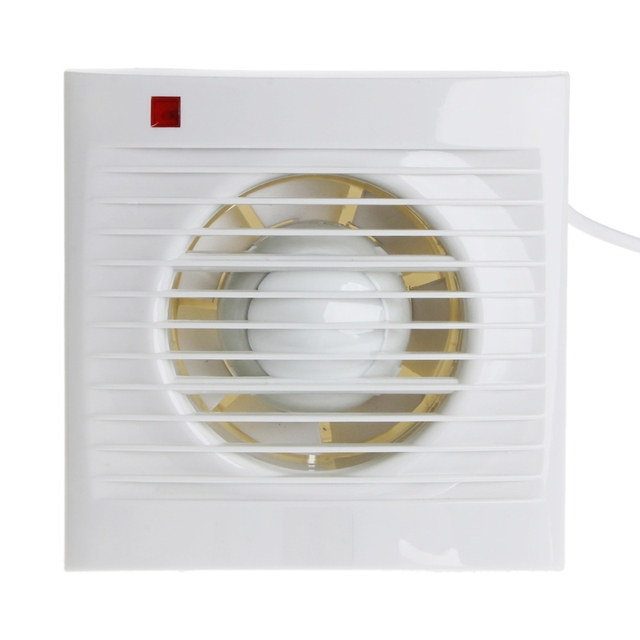 Kitchen Bathroom Ventilation Laundry Room Exhaust Fan Air Through Wall
