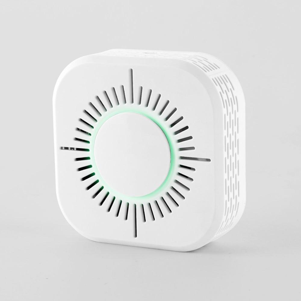 Wifi Home Safety Smoke Alarm Sensor Alarm System WIFI 433MHz Wireless Smoke Detector Portable Protection