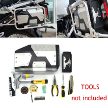 For BMW R1250GS/ADV R1200GS LC 2013-2019 All New Decorative Aluminum Box Toolbox Suitable for side bracket 4.2 Liters