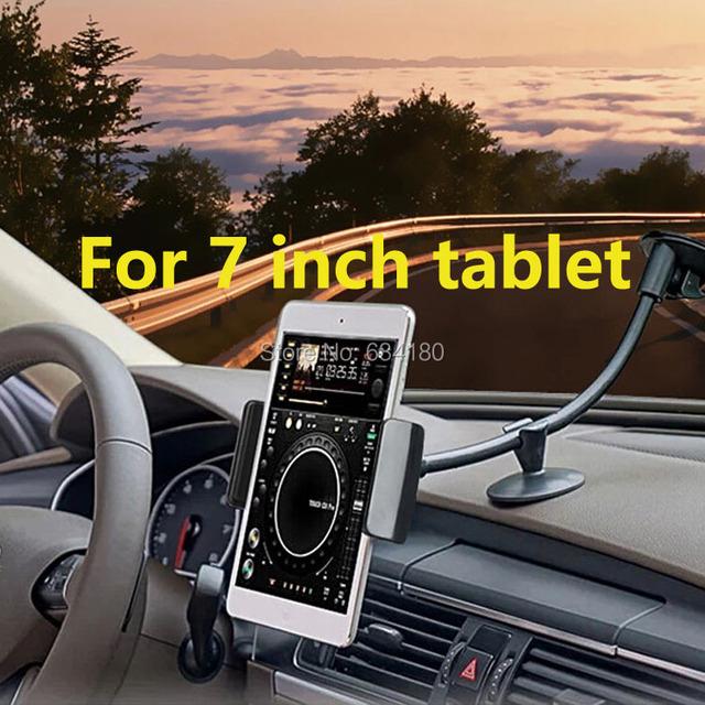 360 grados que giran stents navegación Soporte universal Del montaje Del Coche para 7 a 8 pulgadas de la tableta mini ipad 3 samsung asus acer