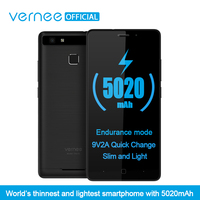 Vernee Thor E 5 HD 4G LTE Mobile Phone MTK6753 Octa Core Android 7 0 Cell