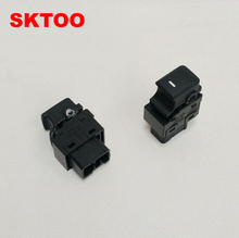 SKTOO For Kia Sportage door Window switch window lifter switch 93575-1H000 369510-1000 sktoo for kia sportage r window lifter switch assembly with the mirror fold the left front door glass levelers switch with high