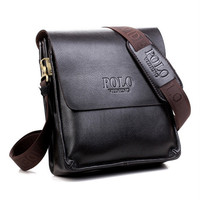 Hot Selling Genuine Leather POLO Men Messenger Bags Crossbody Bags Men S Travel Bags Fast Shipping