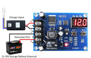 12-24V Charging Control Module Storage Lithium Battery Protection Board For Household Chargers/ Solar Energy /Wind Turbi 12v 24v(China)
