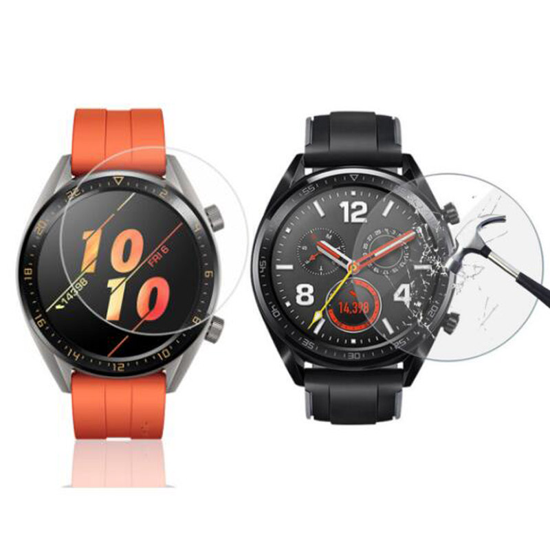 Tempered Glass Protective Film Guard For Huawei Watch 2 Pro Fit GT Active/Elegant Honor Watch Magic S1 Screen Protector Cover