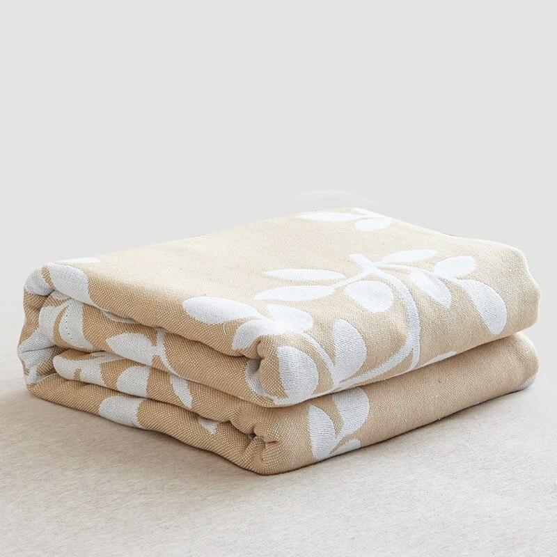 Grande taille bébé couette enfants adulte sieste couverture garçons filles serviette de bain infantile jeu couverture coton 2 couches gaze respirante couverture
