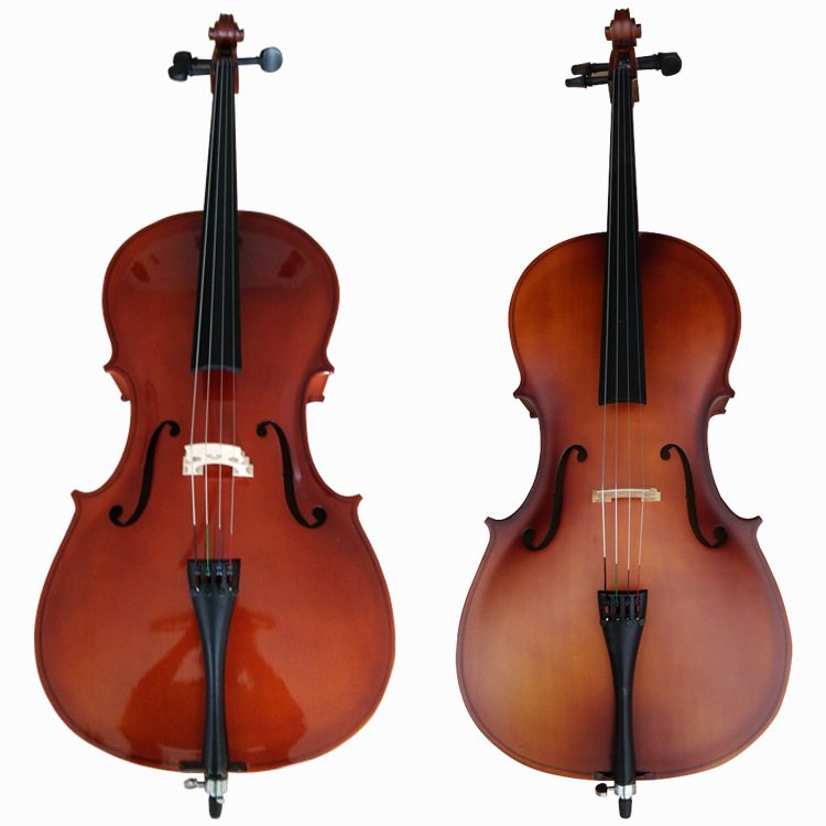 4/4 Cello Gloss Finish Basswood Face Board With Bow Rosin Carrying Bag For Music Lovers Beginner 4 pcs cabinet locks children drawer cupboard refrigerator door desk plastic protection locking baby kids straps safety straps