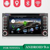 32G Встроенная память 4 ядра Android 9,0 Автомобильный мультимедийный плеер DVD для Toyota CELICA для Toyota MR2 для Toyota 4runner Автомобиль Радио Стерео
