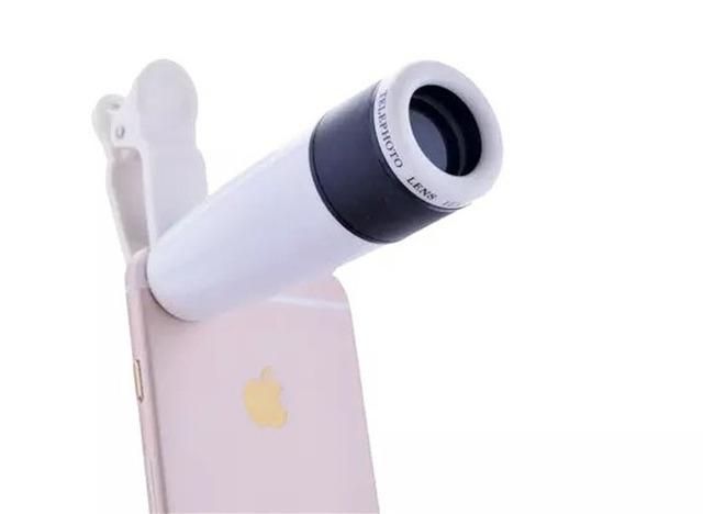 Clip universal lente telefoto 12x zoom telescopio del teléfono móvil para motorola moto m, oneplus 3 t, vivo v5
