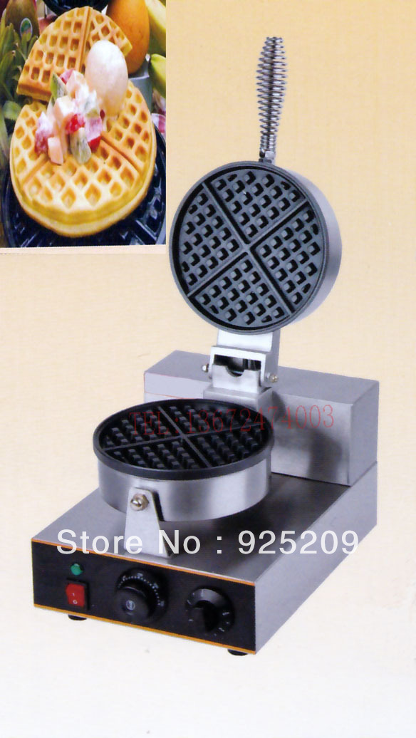 Free shipping 220v 110v  HOT sale Electric Single head for waffle machine, waffle cake ,waffle baker chiaro 386025301 палермо
