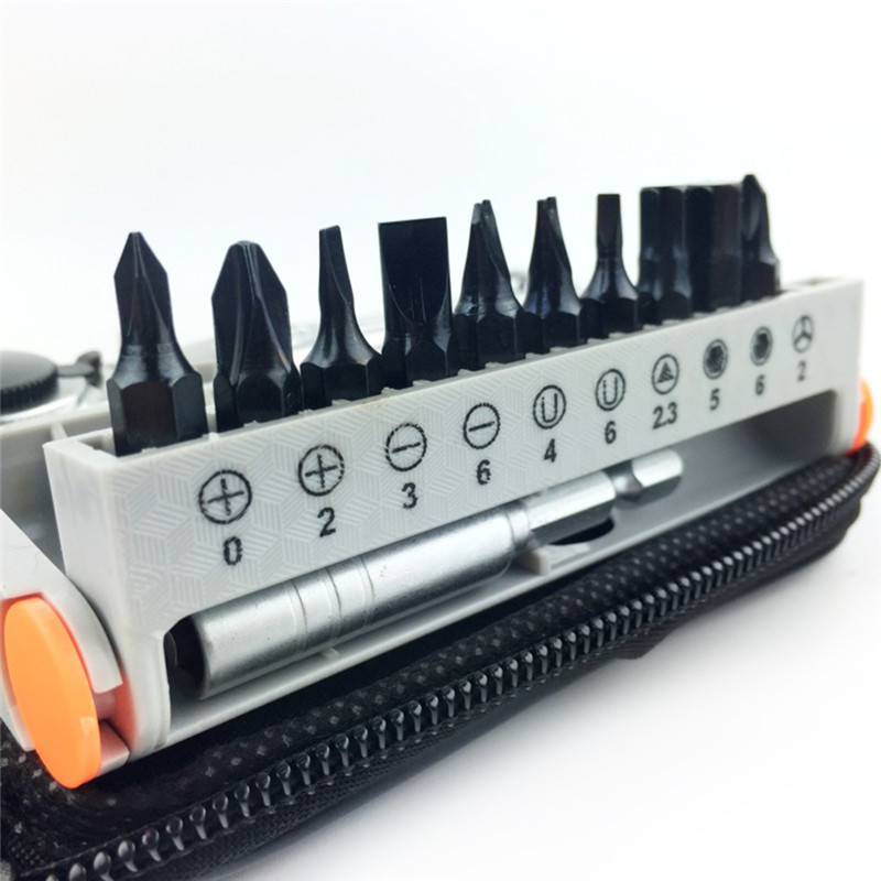 12PCS / sada mini přenosných rychloběžných šroubováků - Sady nástrojů - Fotografie 4
