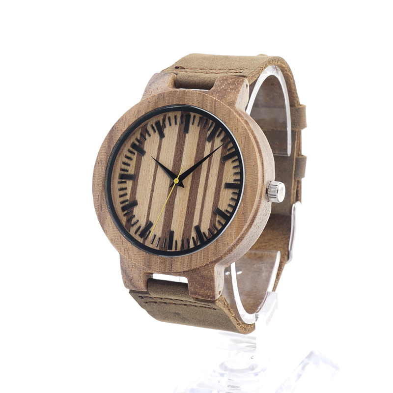 Watch Men 2017 BOBO BIRD Brand Wooden Wristwaatch Luxury Quartz Watches relogio masculino C-C21 bobo bird new luxury wooden watches men and women leather quartz wood wrist watch relogio masculino timepiece best gifts c p30