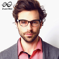 Zuan Mei Brand Fshion Glasses Frame Men Black Spectacle Frame Optical Eyeglasses For Men Lunette De