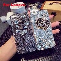 Phone Case Cover For Lenovo P780 P770 P70 A536 A319 A850 A606 A806 A859 Crown Skull