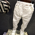 2016 NEW children Pants baby boy's casual jeans kids fashion white denim pants Spring Autumn Holes Trousers for 2-6T