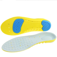 2 double Absorbent Comfortable Running Pu Insoles Odor-proof Breathable Military Training Exercise Insoles