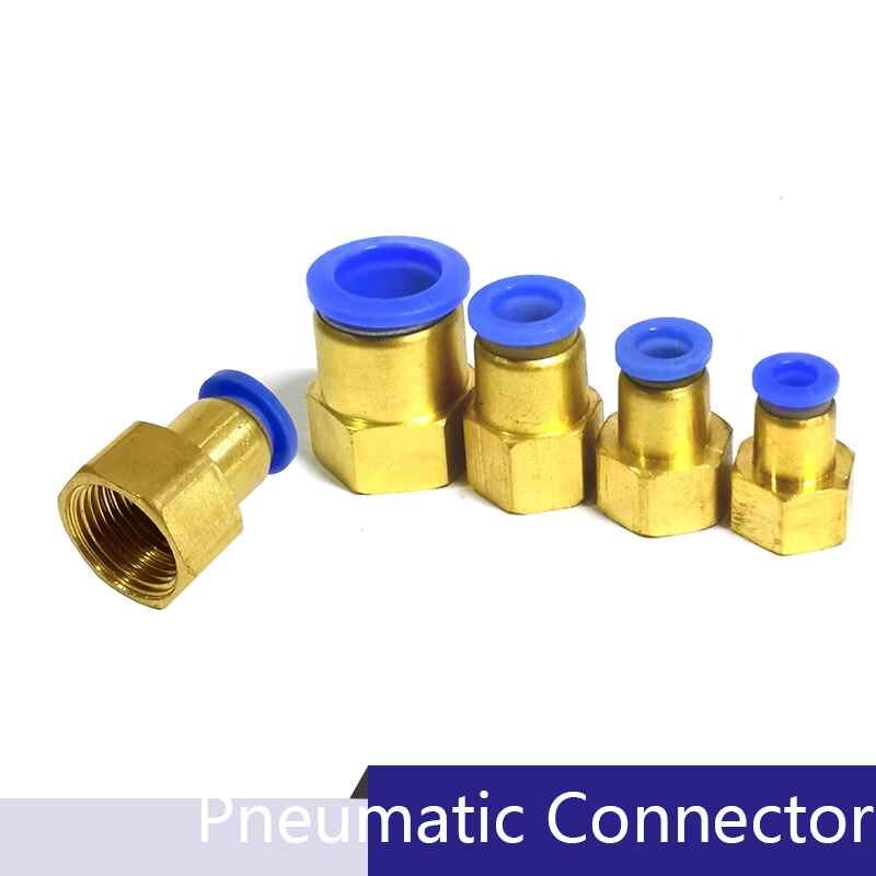 """20pcs 6mm-1//4/"""" Pneumatic Connectors Elbow Fitting BSPT"""
