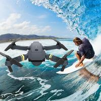 RC Airplane Plane Toys Kids Gifts Remote Control Folding Drone HD Real time Aerial Photography Quadcopter Kit
