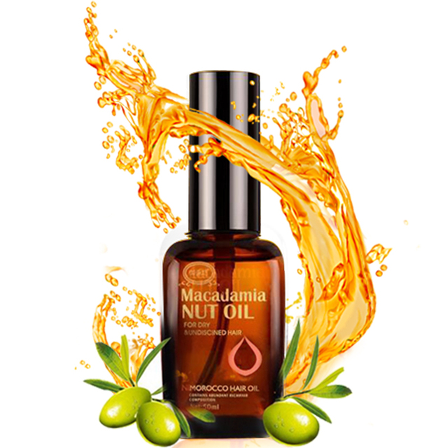 Natural Pure Moroccan Argan Oil for Dry and Damaged Hair