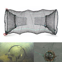 1pc Fishing Collapsible Trap Cast Keep Net Crab Crayfish Lobster Catcher Pot Trap Fish Net Eel Prawn Shrimp Live Bait Hot Sale(China)