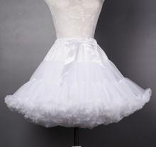 58 Victorian Lolita Crinoline Underskirt Women Rococo Dress White Mesh Cloud Soft none-hoop crinoline Petticoat