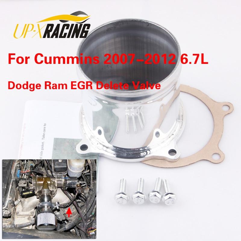 egr valve for Cummin 2007-2012 6.7L Turbo Diesel Throttle Valve Delete Kit Ram EGR Valve delete EGR1114