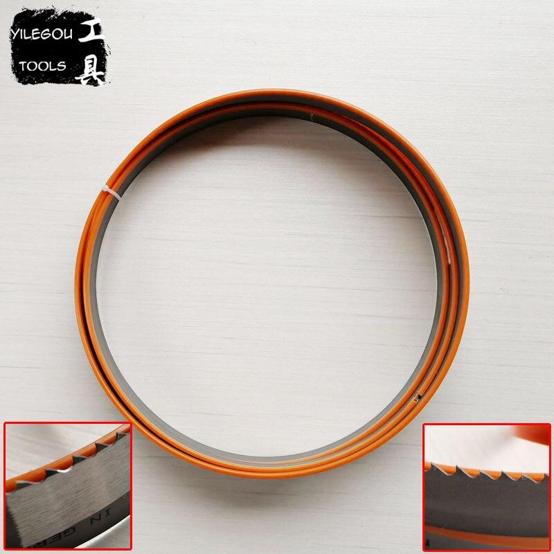 цена на 3700mm M42 Metal Band Saw Blades 3700*34*1.10mm*3/4Tpi Bi- Metal Band Saw Blades For Cutting Metal 34*1.1*3700mm*4/6 Teeth