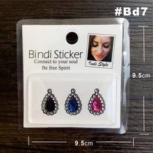 Pearl And Rhinestone Bindi Sticker Handpicked Hippie Style Forehead Decoration