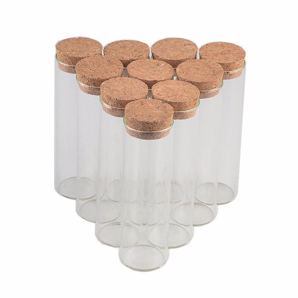 30*120 مللي متر 60 مللي صغيرة فارغة أنبوب اختبار كورك زجاجات قوارير ل الزفاف الديكور عيد الميلاد هدايا 50 قطعة/الوحدة-في زجاجات وجرار وصناديق من المنزل والحديقة على  مجموعة 1
