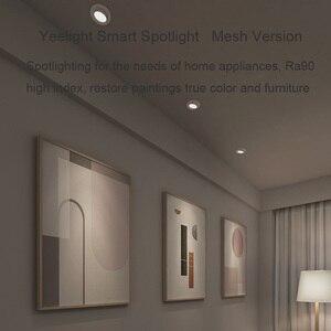 Image 5 - Yeelight זרקור חכם אור הנורה אור הזרקורים הכי חדש Bluetooth רשת גרסה עבודה Yeelight Gateway עבור Mi בית APP
