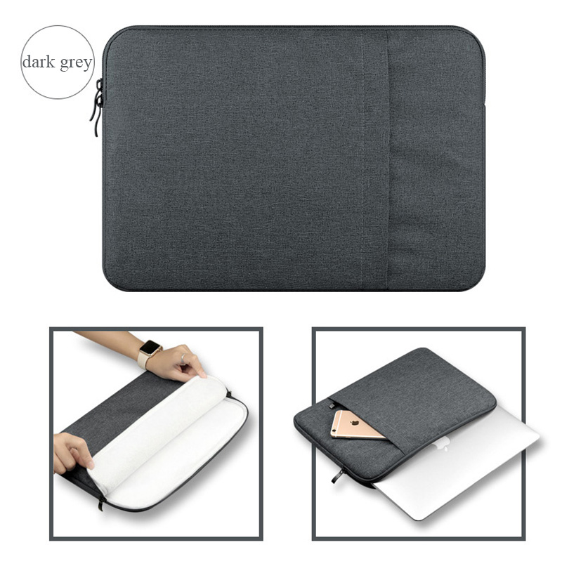 Nylon Laptop Sleeve Notebook Bag Pouch Case for Macbook Air 11 13 12 15 Pro 13.3 15.4 Retina Unisex Liner Sleeve for Xiaomi Air