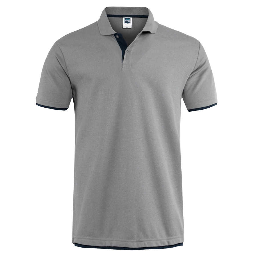 Mens Polo Shirt Brands Clothing 2019 Short Sleeve Summer Shirt Man Black Cotton Poloshirt Men Plus Size Polo Shirts