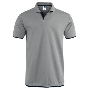 Męskie koszulki Polo marki odzieżowe 2019 letnia koszula z krótkim rękawem męskie czarne bawełniane koszulki Polo męskie Plus Size tanie i dobre opinie JACK CORDEE REGULAR Na co dzień Button Patch Designs Solid COTTON Oddychająca Stałe 65 Cotton 35 Polyester Black white blue green navy red