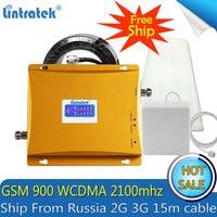 Бесплатная доставка 3g WCDMA 2100 мГц GSM 900 м Сотовая связь усилитель сигнала GSM 900 мГц 3g UMTS 2100 мГц 2 г 3g Усилитель сигнала Усилитель