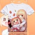 Himouto! Umaru-chan camiseta linda Anime cómodo respira libremente hombres camiseta moda mujeres Tops Doma Umaru Cosplay Tees