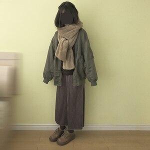 Image 3 - Foulard réchauffant pour femmes, joli ours oreilles, chapeau, peluche, écharpe à capuche, nouvelle mode, bonnet, joli cadeau pour filles