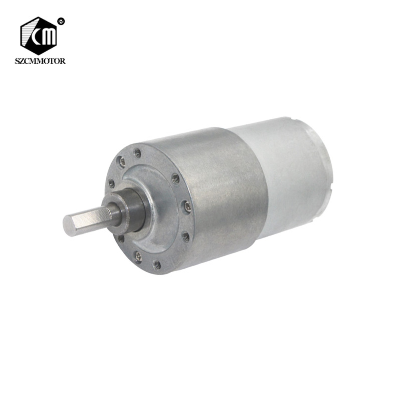 BEMONOC DC Brushless Gear Motor Dia 37mm 12V Low Speed 10 RPM High Torque with Installing Bracket