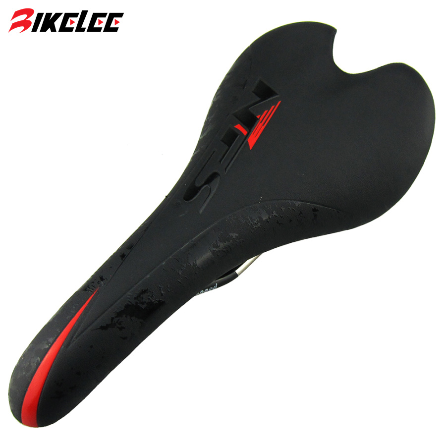 2017 New Road Bicycle Saddle Mountain Bike Saddle Bicycle Breathable Cusion Leather Ultralight Cycling MTB Saddle Bicycle Parts new arrival carbon saddle bicycle bike saddle seat road bike saddle sillin bicicleta sillin carbono sella carbonio