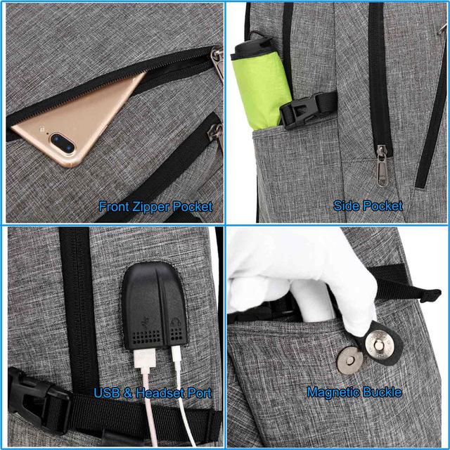 Multifunction USB charging bag
