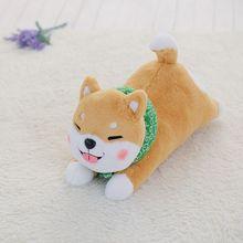Nooer Hot Selling Stuffed Shiba Inu Dog Plush Toy Cute Lying Corgi Plush Doll Soft Pillow Cushion Best Gift For Kids Children
